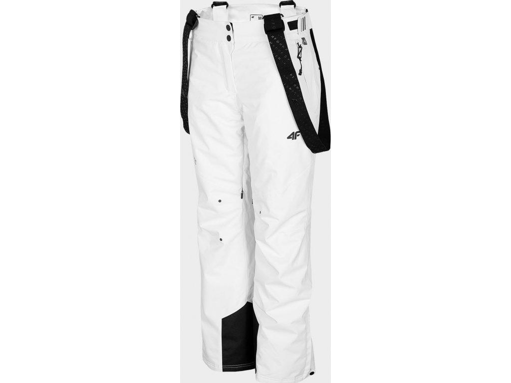 Spodnie damskie narciarskie 4F SPDN100 Białe