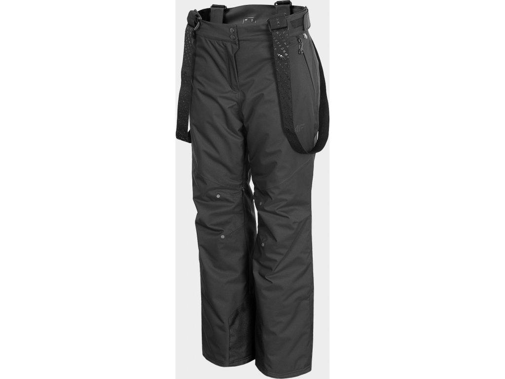 Damskie spodnie narciarskie 4F SPDN100 Ciemnoszary kolor