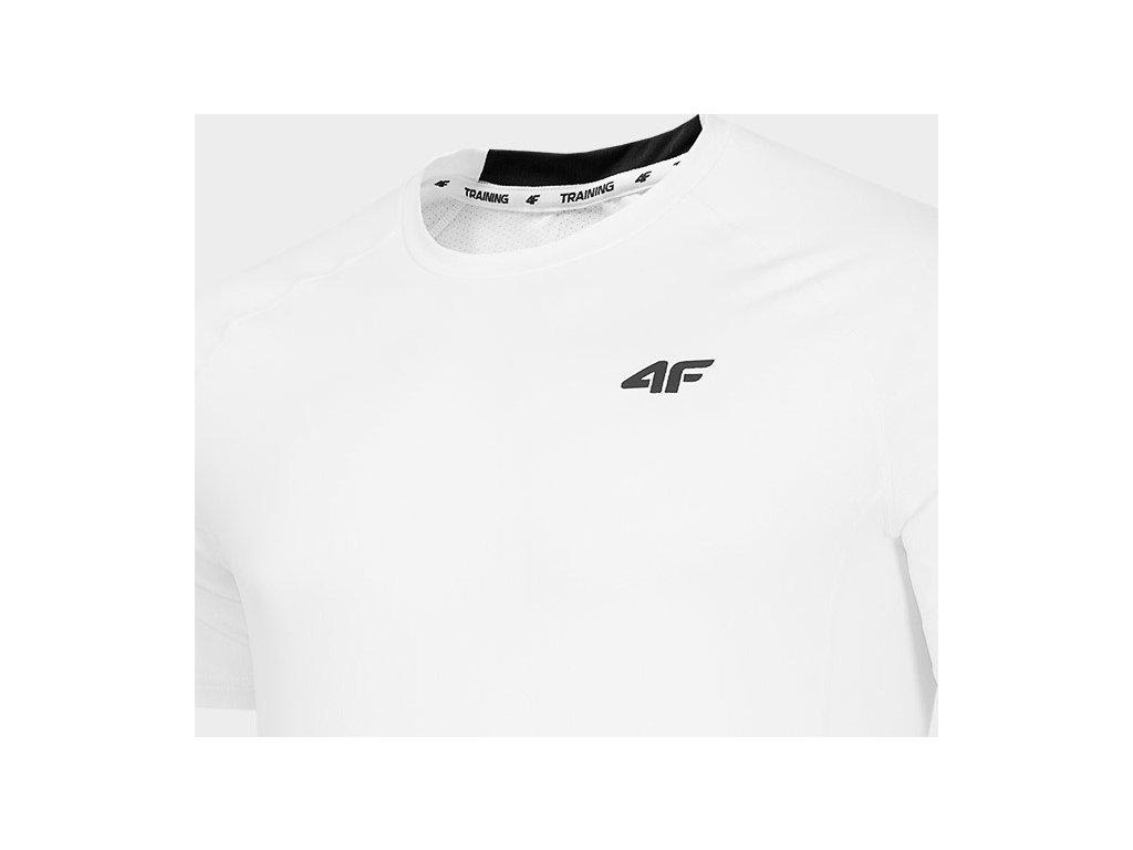 Koszułka męska sportowa 4F TSMF260 Biała