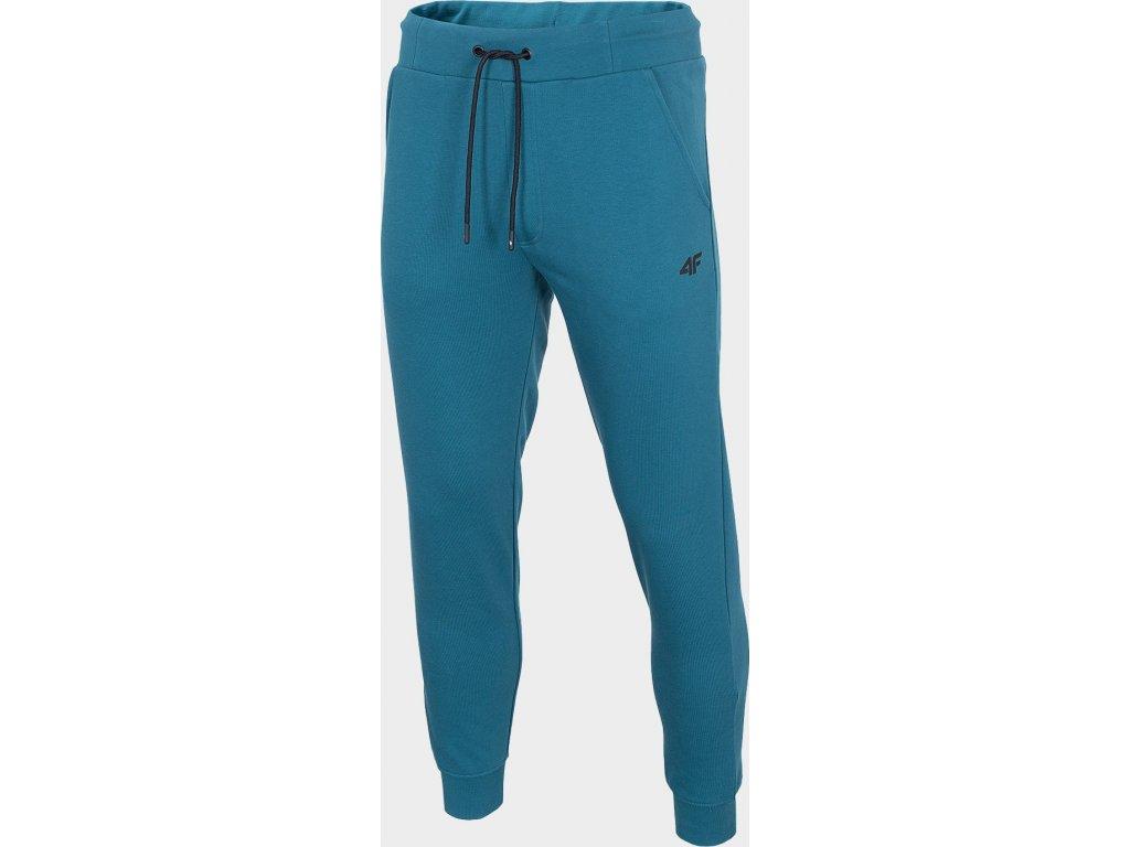 Męskie spodnie dresowe 4F SPMD301 Niebieskie