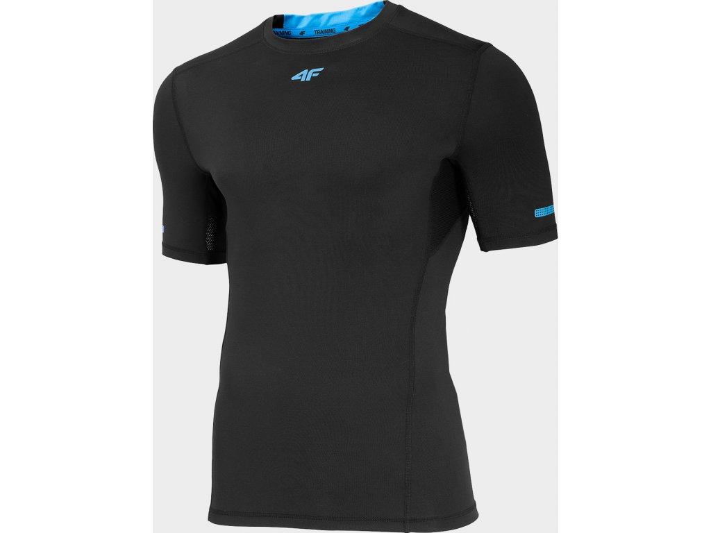 Koszułka męska sportowa 4F TSMF261 Czarna