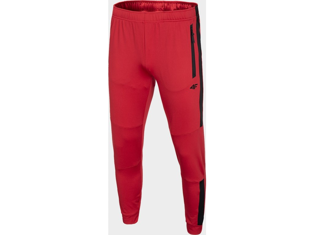 Męskie dresy sportowe 4F SPMTR200R Czerwone
