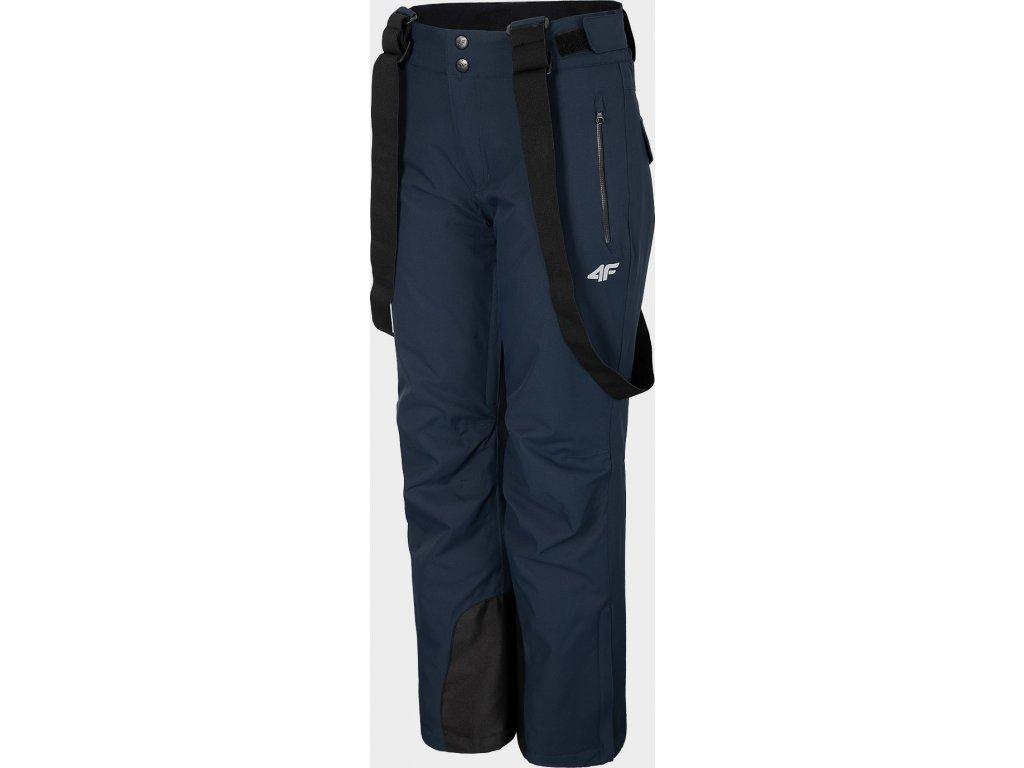 Damskie spodnie narciarskie 4F SPDN270 Ciemnoniebieskie