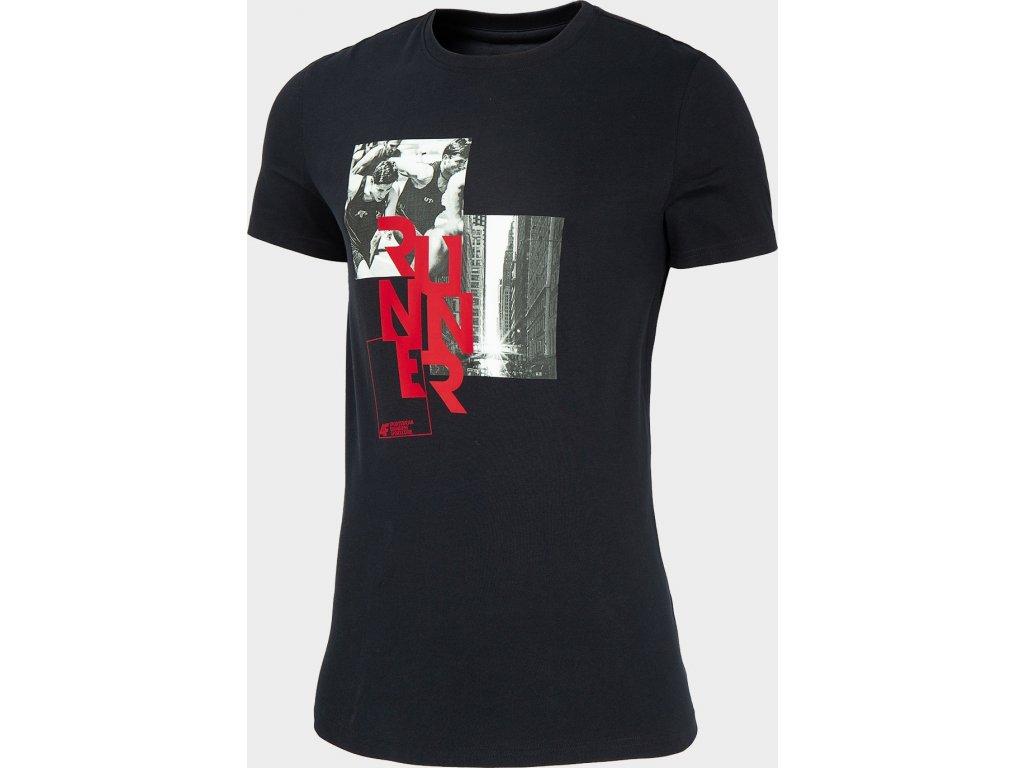 Koszulka męska 4F TSM259 Granatowa