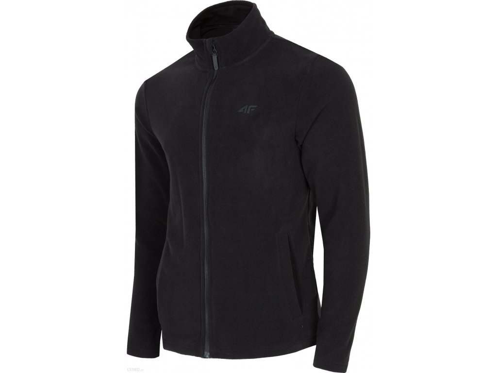 Bluza męska polarowa 4F PLM300 Czarna/melange