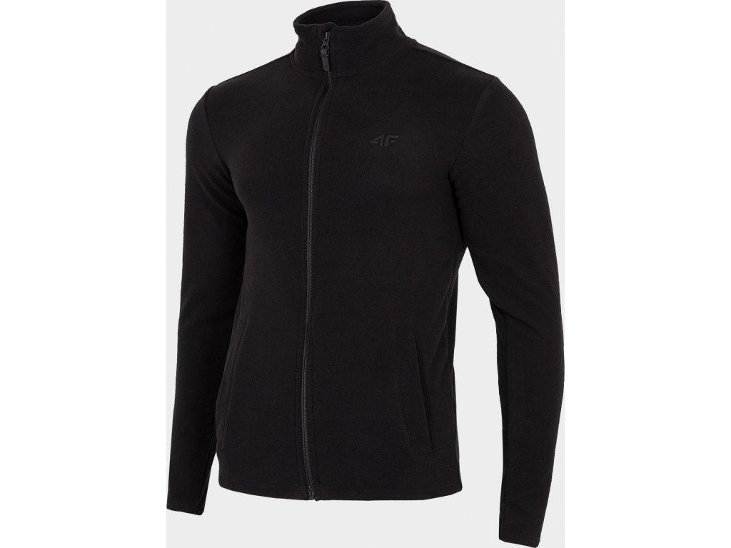 Bluza męska polarowa 4F PLM300 Czarna