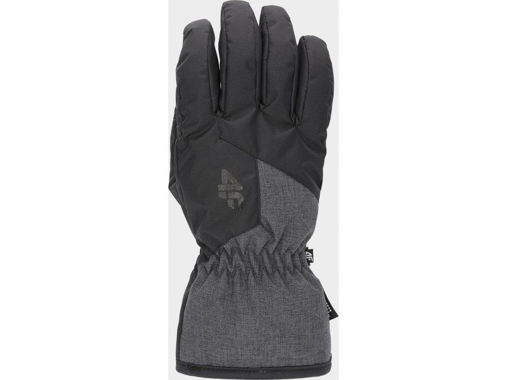 Męskie rękawice narciarskie 4F REM001 Czarne