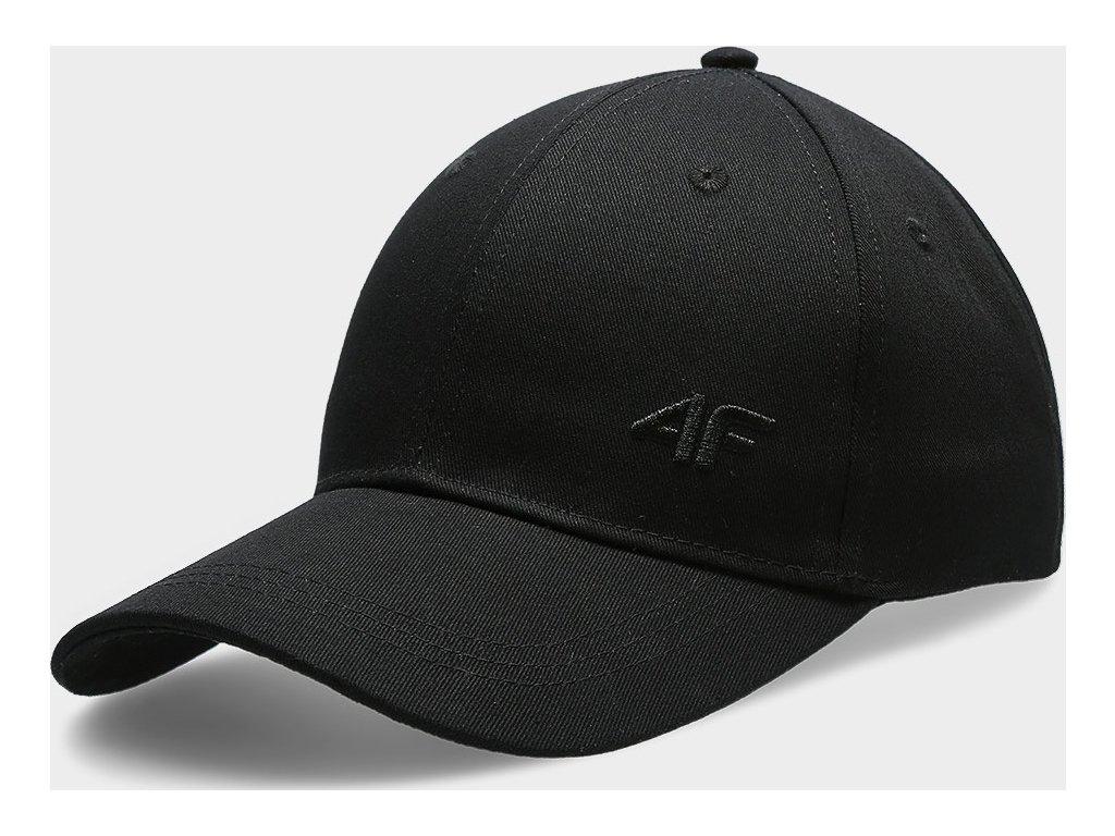 Damska czapka z daszkiem 4F CAD301 Czarna