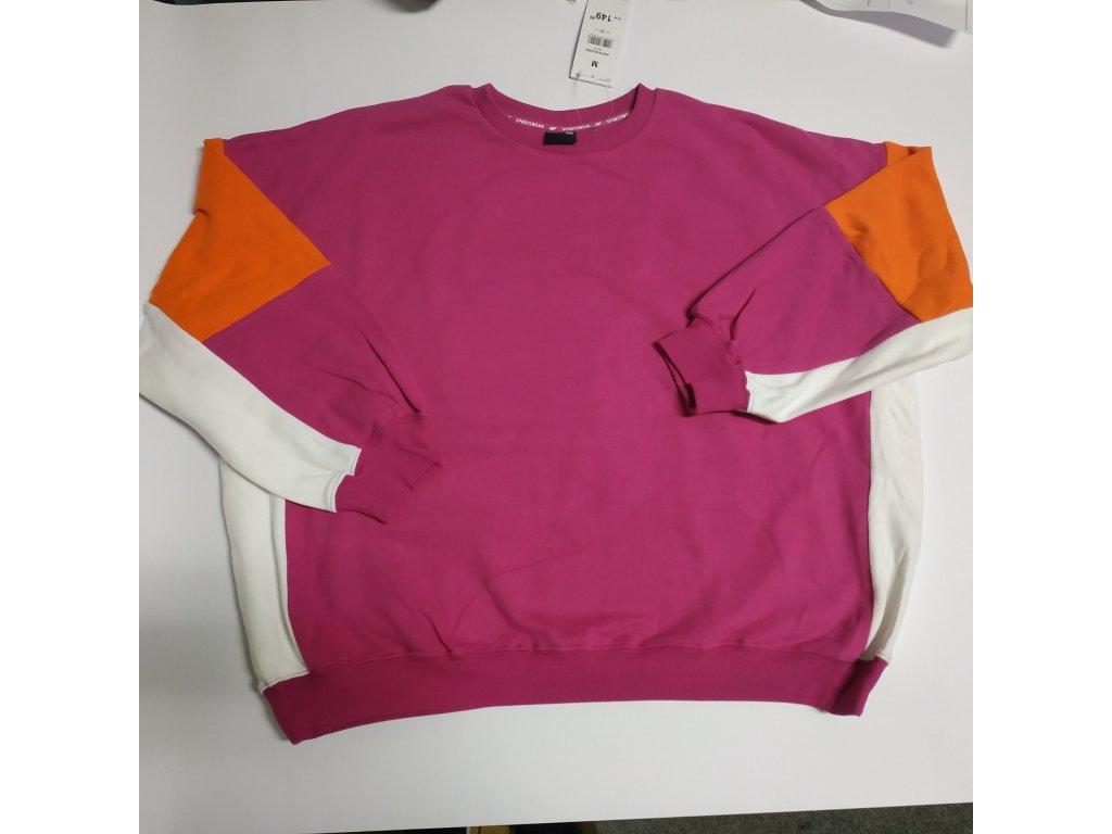Damska bluza 4F BLD226 różowa