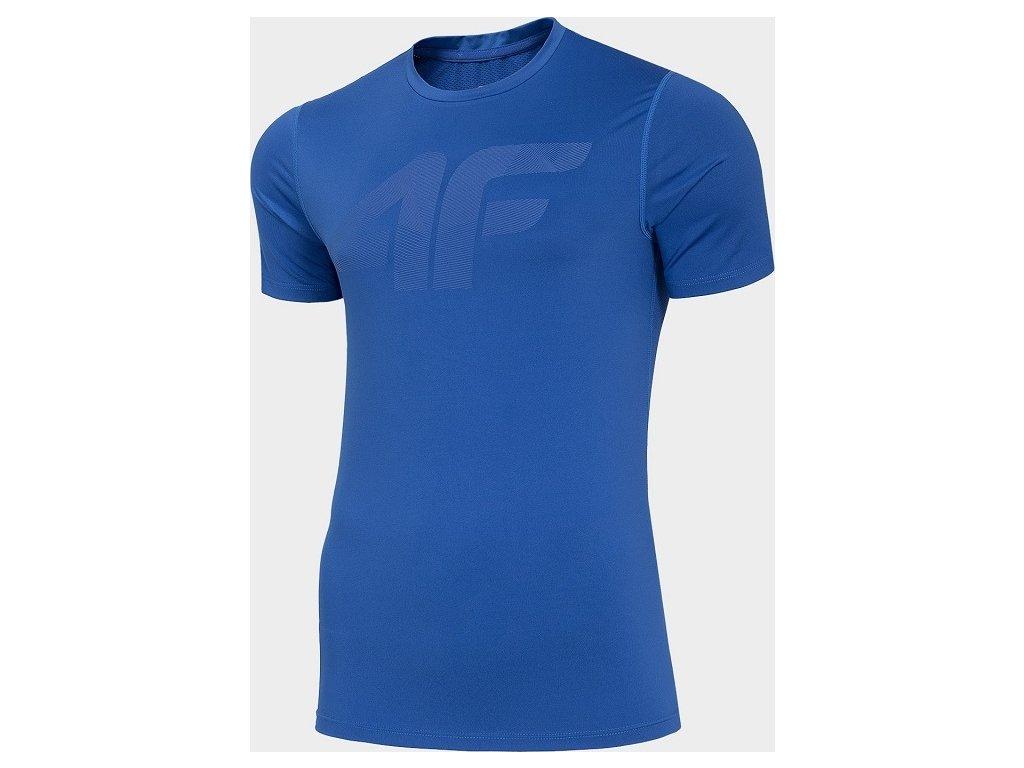Koszułka męska sportowa 4F TSMF004 Jasna niebieska