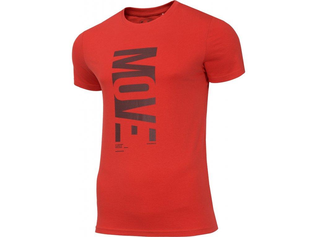 Koszułka męska 4F TSM072 Czerwona