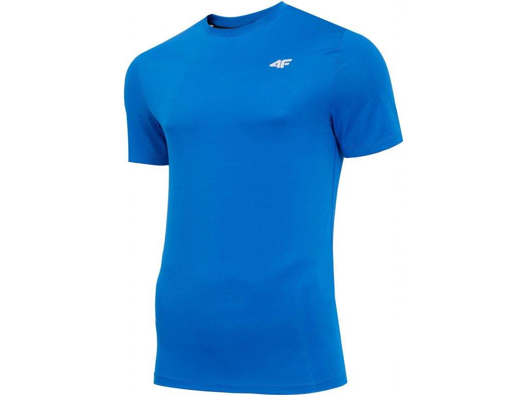 Koszułka męska sportowa 4F TSMF001 Niebieska