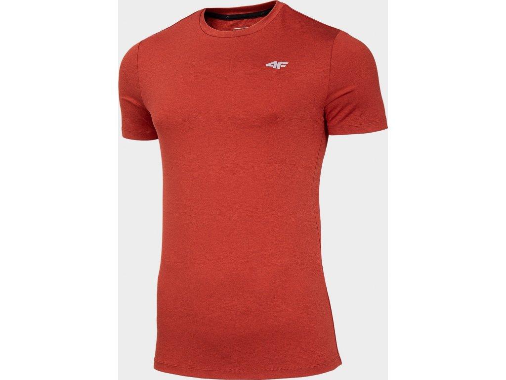 Koszułka męska sportowa 4F TSMF001 Czerwona
