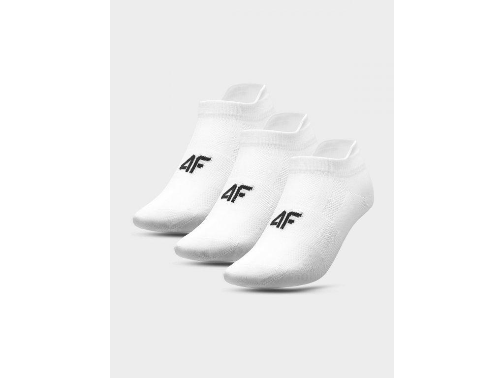 Dámské sportovní ponožky 4F SOD213 Bílé