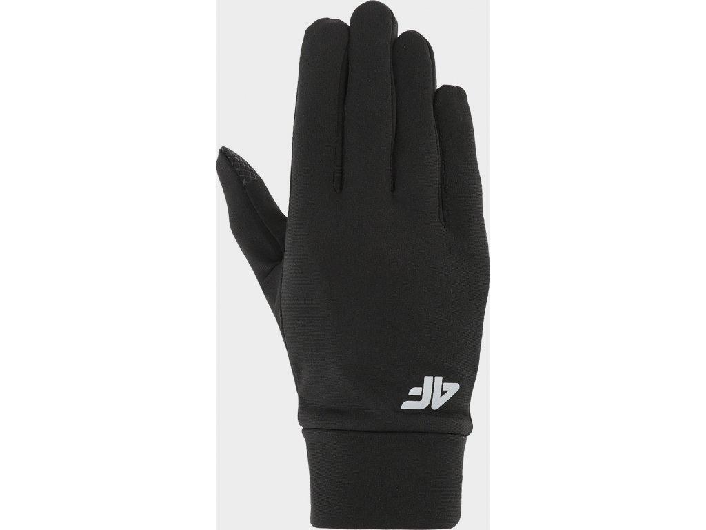 Rękawice unisex 4F REU200 Czarne