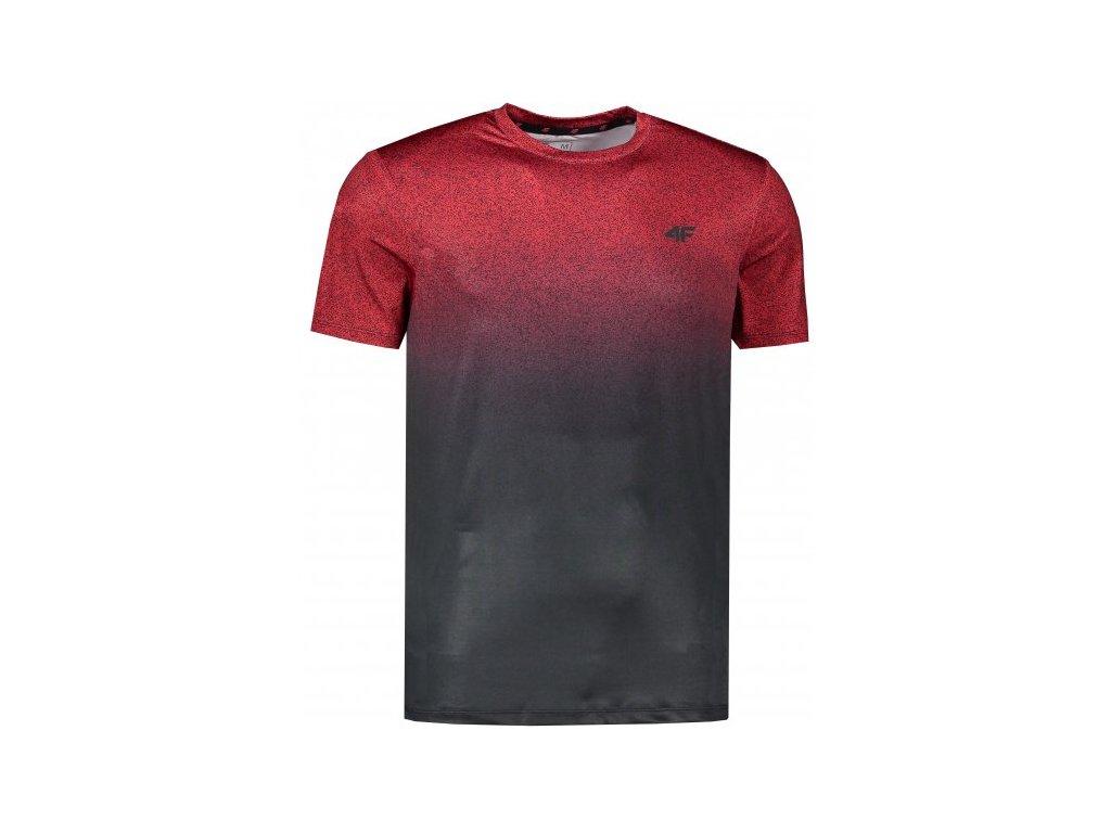 Pánské funkční tričko 4F TSMF008 Červené
