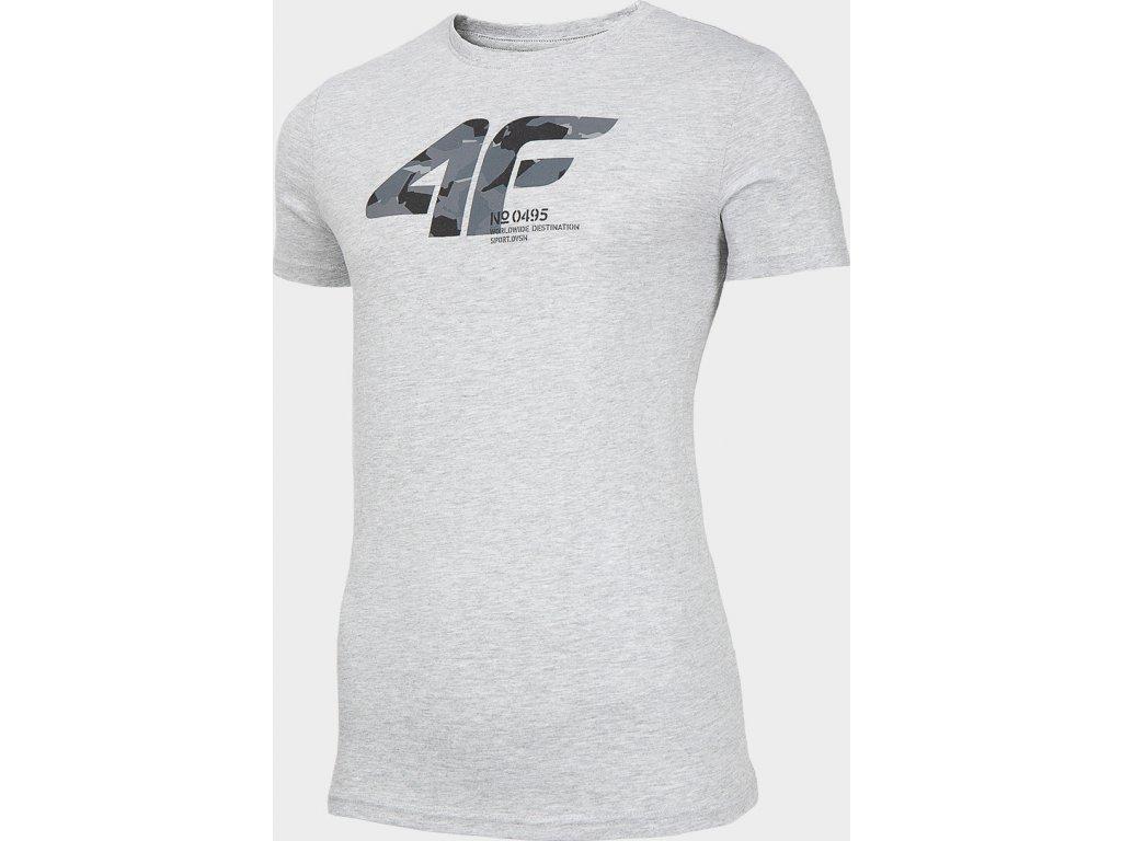 Koszułka męska 4F TSM214 Szara