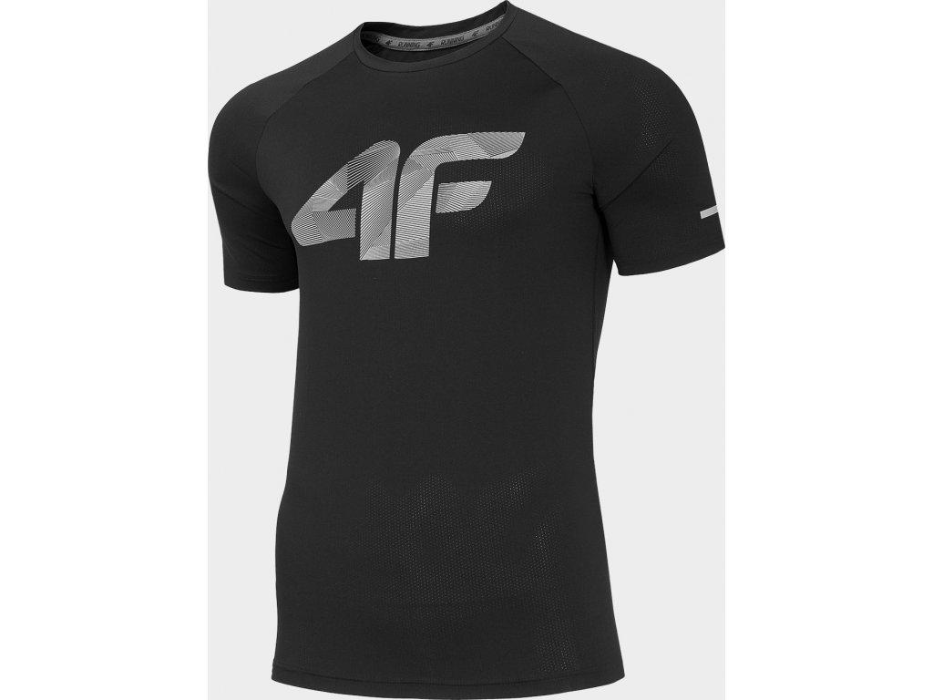Koszułka męska sportowa 4F TSMF273 Czarna