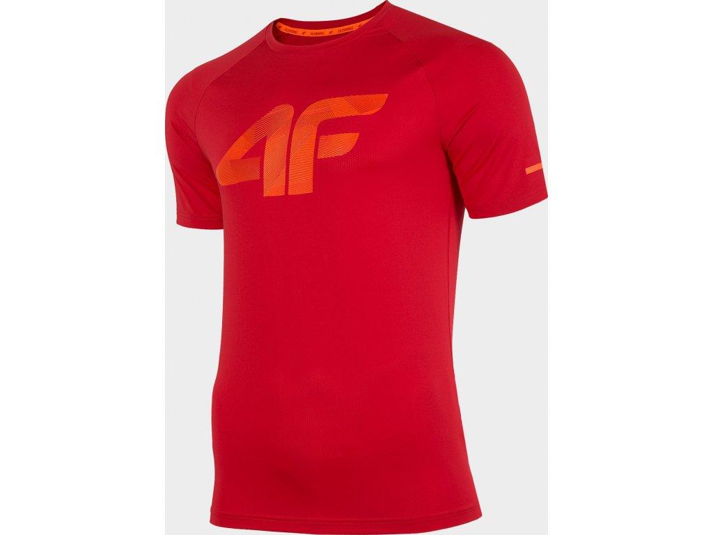 Koszułka męska sportowa 4F TSMF273 Czerwona