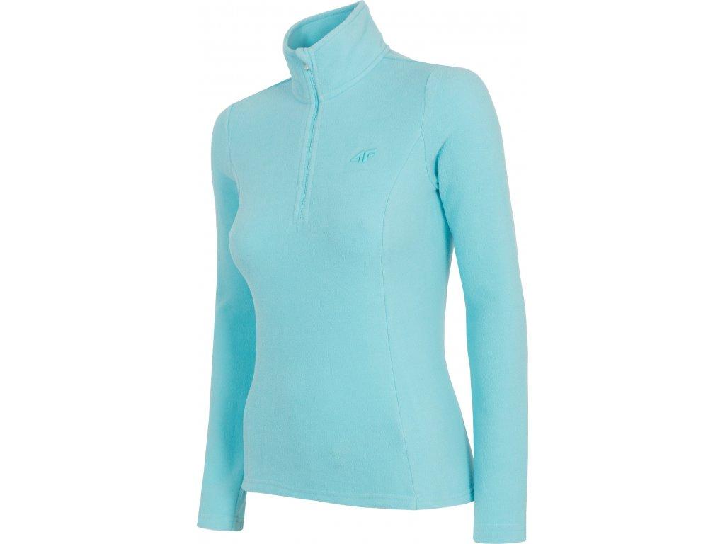 Bluza damska z polaru 4F BIDP001 Błękitna