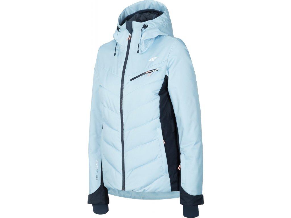 Kurtka damska narciarska 4F KUDN005 Jasna niebieska