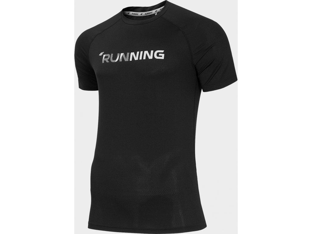 Koszułka męska sportowa 4F TSMF276 Czarna