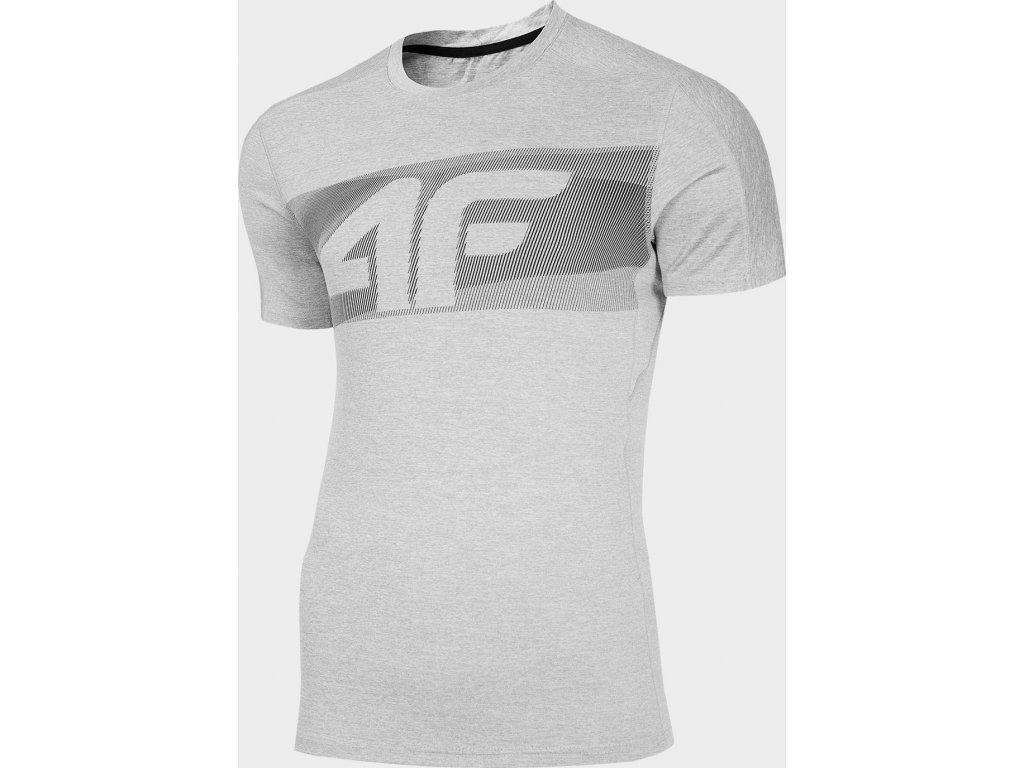 Koszułka męska sportowa 4F TSMF283 Szara