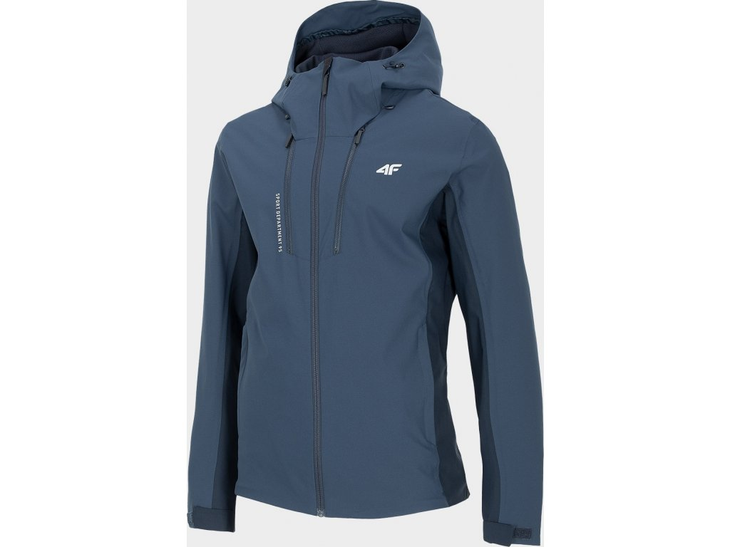 Męska kurtka outdoorowa 4F KUM202 Ciemnoniebieska