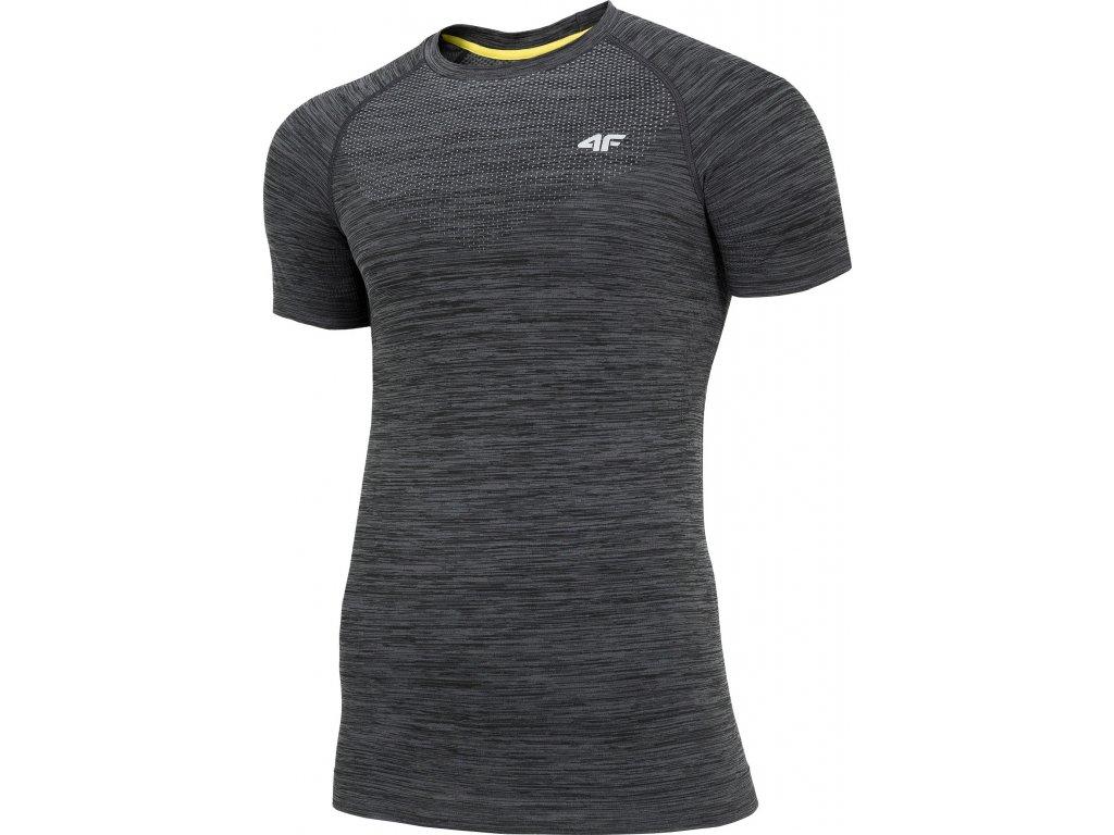 Koszułka męska sportowa 4F TSMF006 Czarna