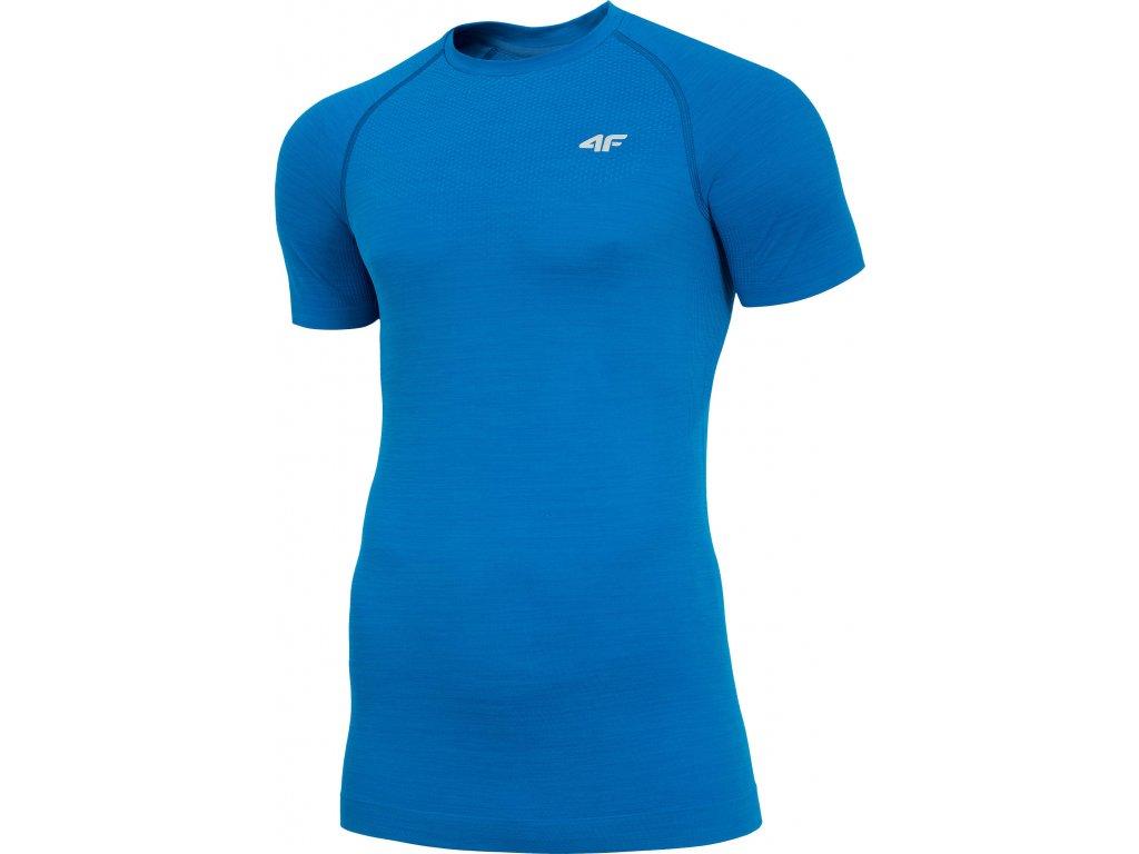 Koszułka męska sportowa 4F TSMF006 Niebieska