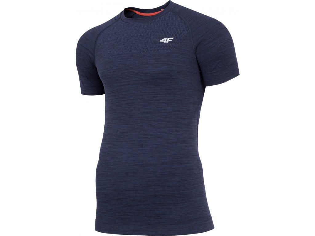 Koszułka męska sportowa 4F TSMF006 Granatowa