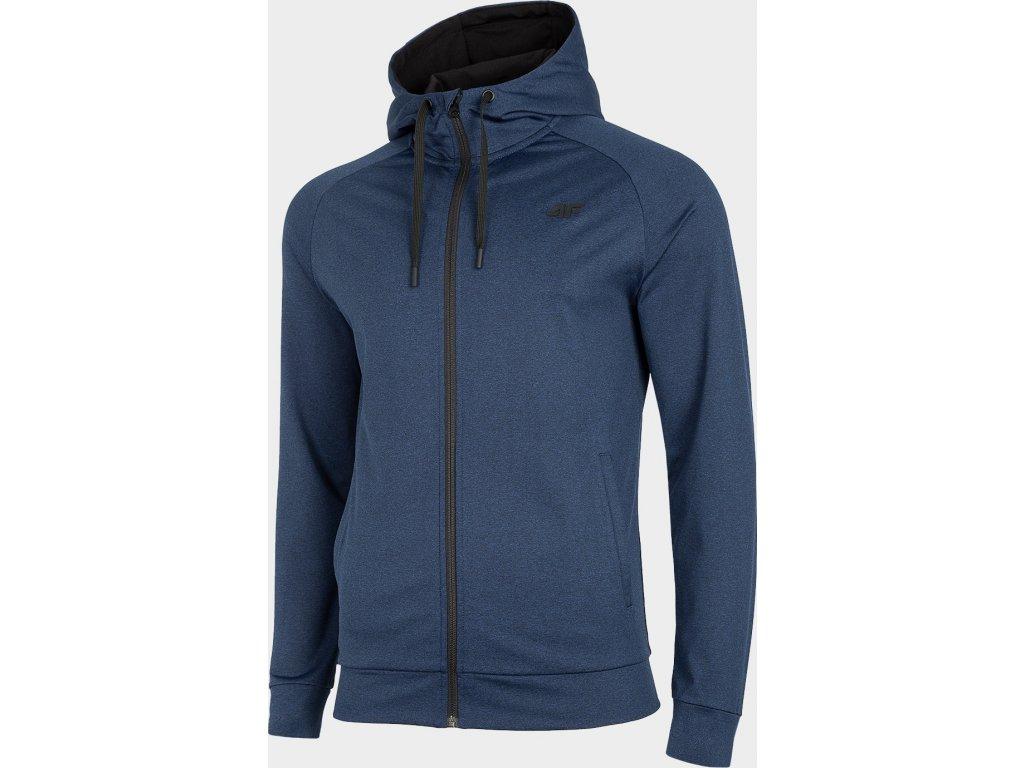 Bluza męska sportowa 4F BLMF300 Granatowa ciemna