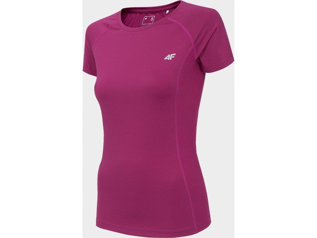 Koszułka damska sportowa 4F TSDF002 Różowa
