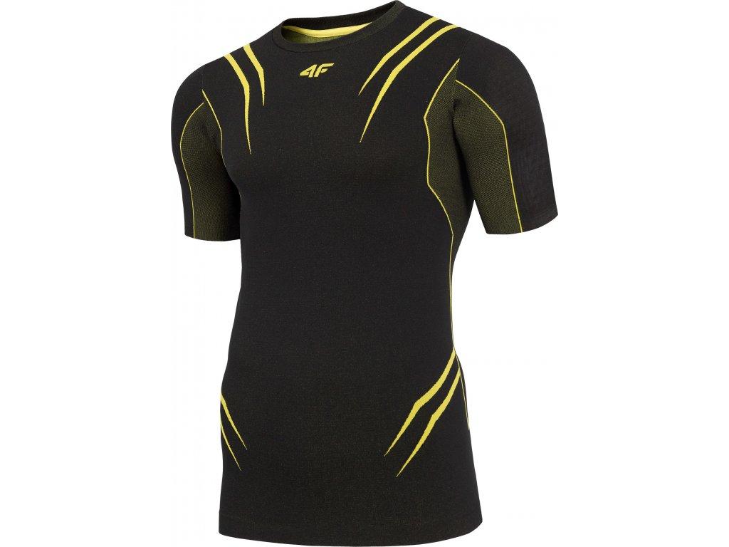 Koszułka męska sportowa 4F TSMF005 Czarna