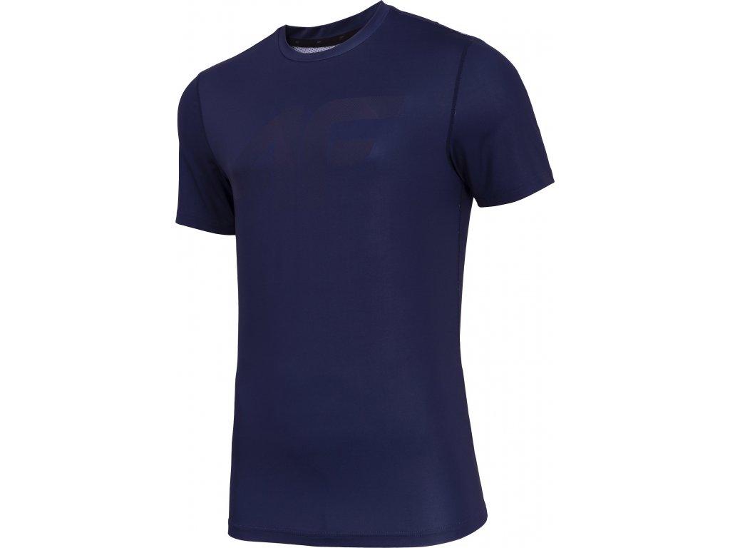 Koszułka męska sportowa 4F TSMF004 Granatowa