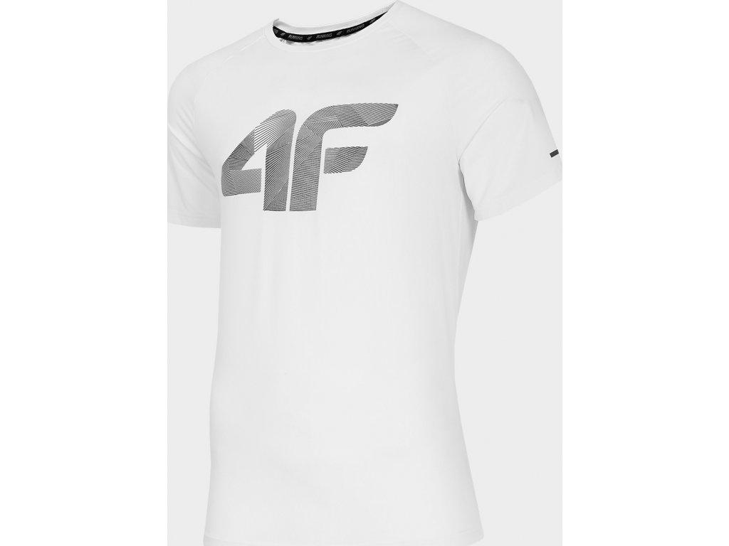 Koszułka męska sportowa 4F TSMF273 Biała