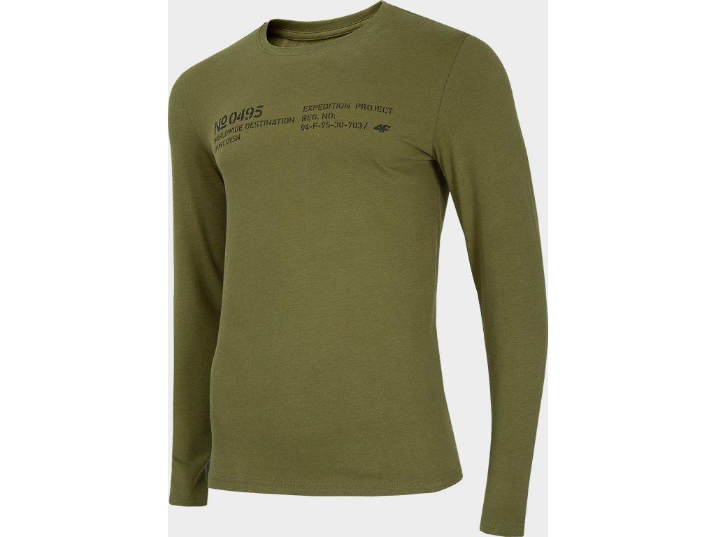 Koszułka męska 4F TSML204 Khaki