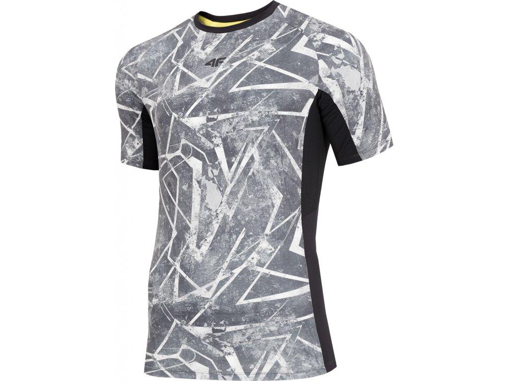 Koszułka męska sportowa 4F TSMF003 Multikolor