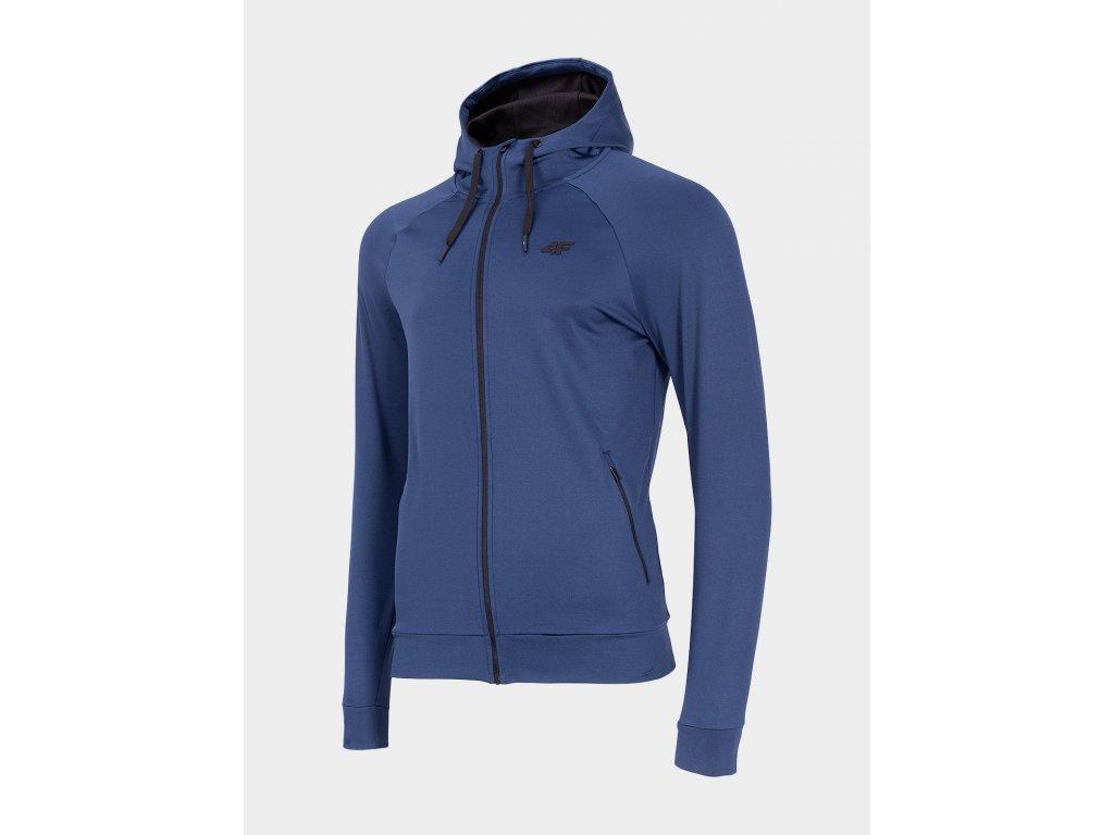 Bluza męska sportowa 4F BLMF300 Granatowa