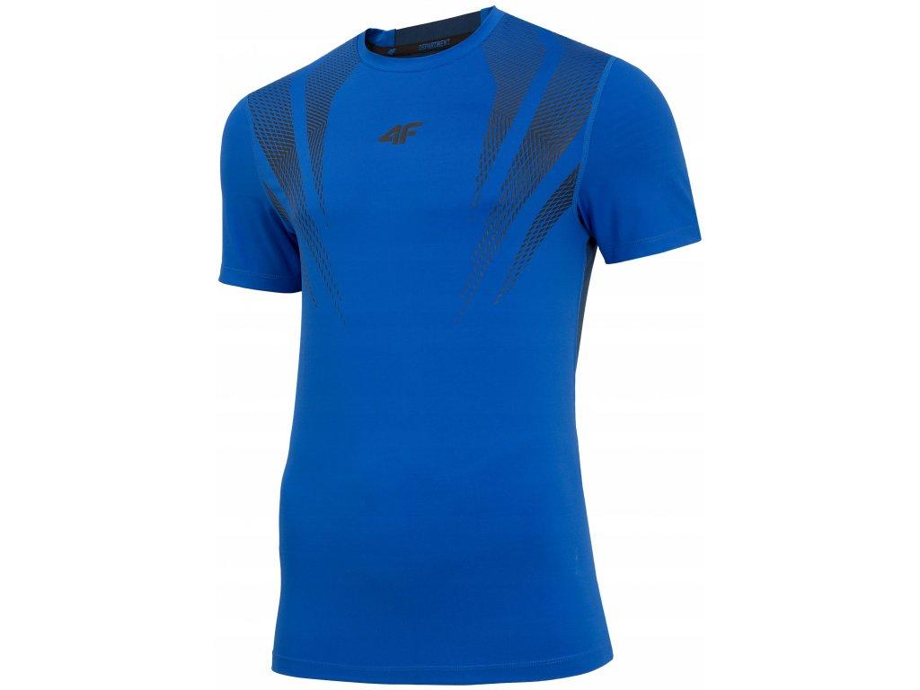 Koszułka męska sportowa 4F TSMF007 Niebieska