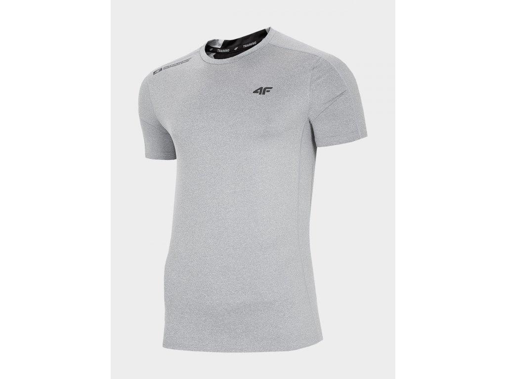 Koszułka męska sportowa 4F TSMF207R Szara