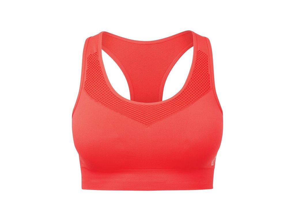 Biustonosz sportowy DARE2B DWU354 Dont Sweat It Bra Pomarańczowy