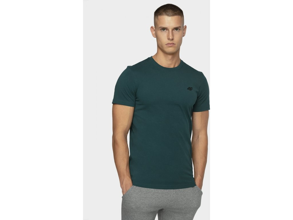 Koszułka męska bawełniana 4F TSM300 Morska