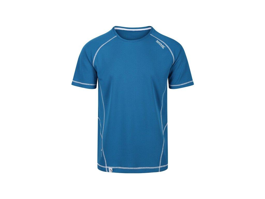Koszułka męska sportowa REGATTA RMT164 Virda II Niebieska