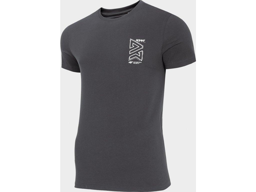 Koszułka męska 4F TSM215 Grafitowa