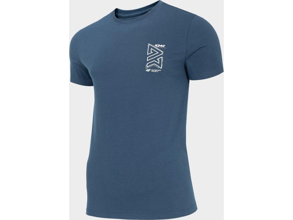 Koszułka męska 4F  TSM215 Granatowa