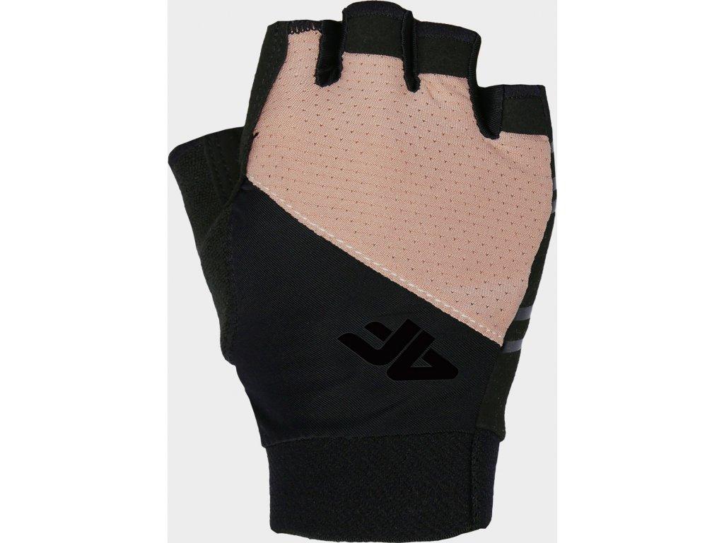 Rękawice sportowe 4F RRU210 Różowe