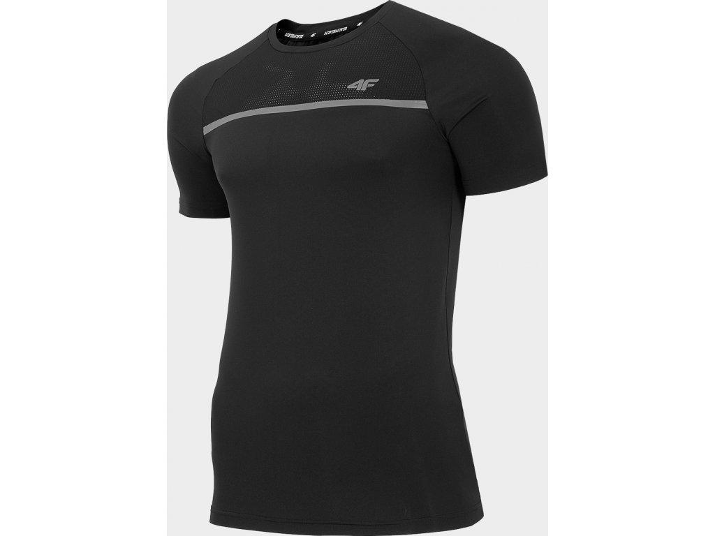 Koszułka męska sportowa 4F TSMF101 Czarna