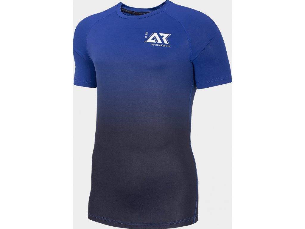 Koszułka męska do biegania 4F TSMF104 Niebieska