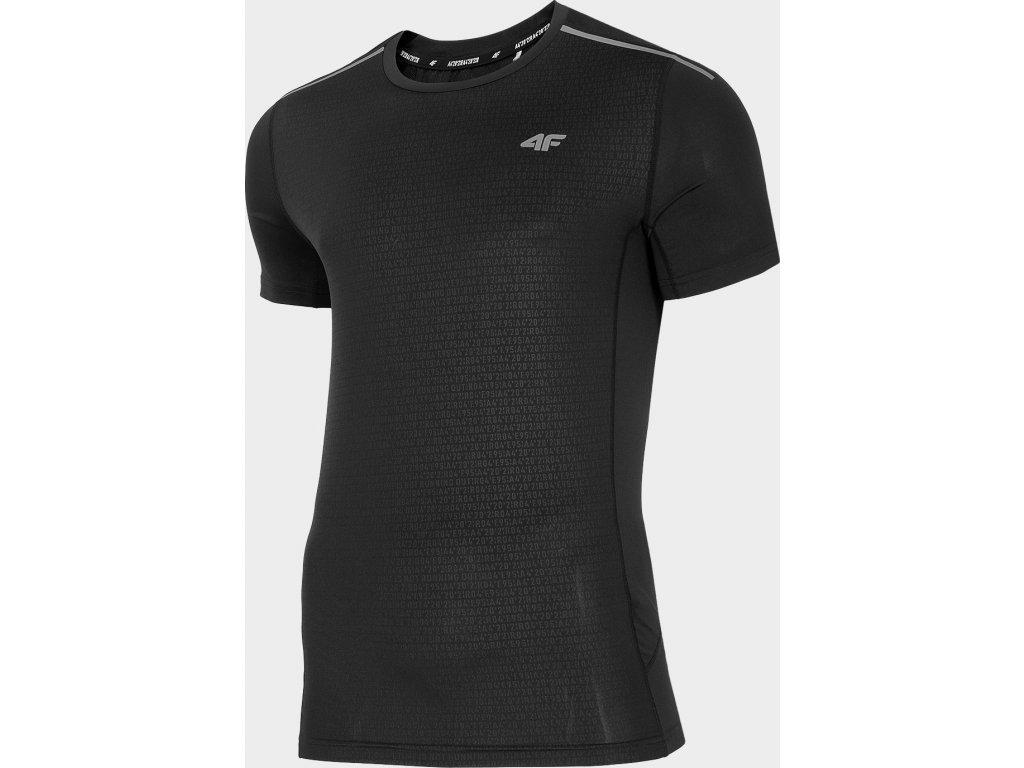 Koszułka męska do biegania 4F TSMF103 Czarna